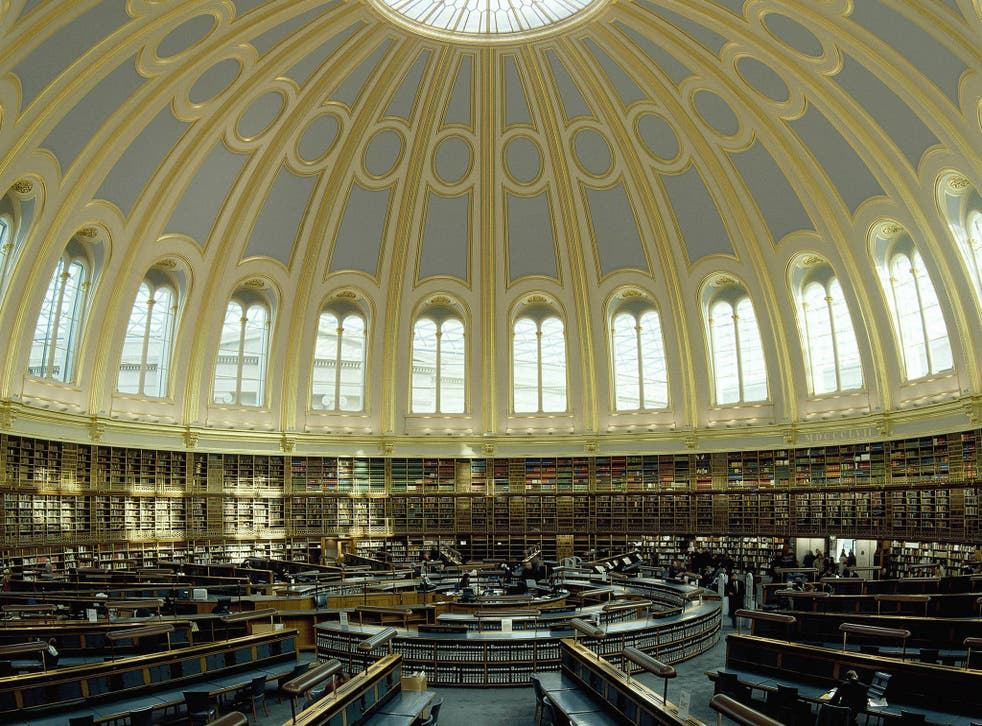 The Reading Room houses a collection of 25,000 books, catalogues and other printed material