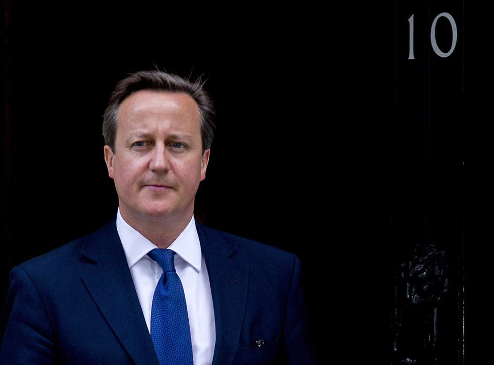 Prime Minister David Cameron: 'We need the voices of the many to ring out across the land'