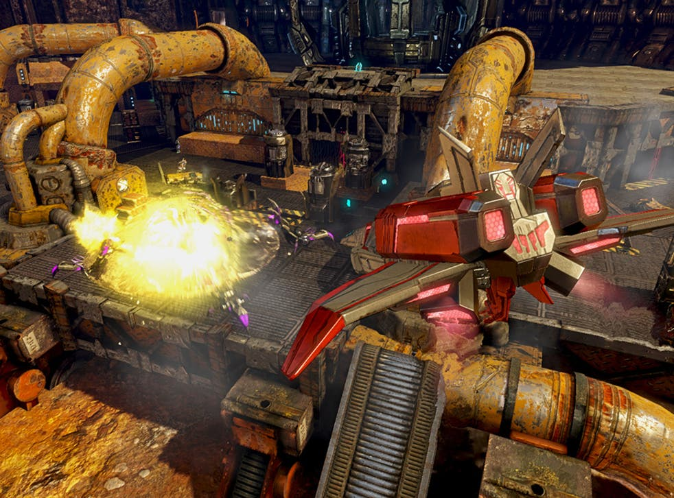 Transformers: Rise of the Dark Spark is a sub-par game in the disguise of a decent one