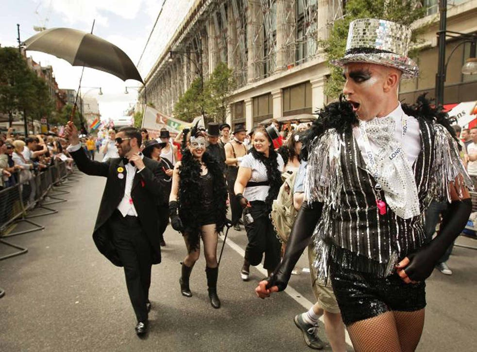 Loud and proud: gay pride celebrations in London