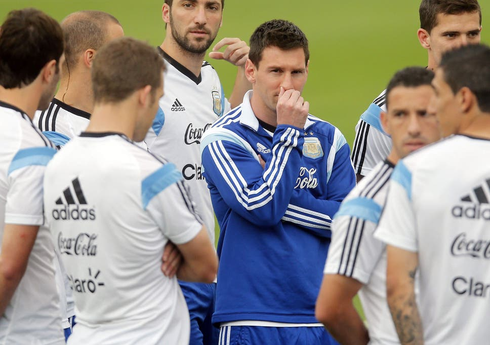 173f27db6 Lionel Messi (centre) must be wondering if his Argentina team-mates will  take