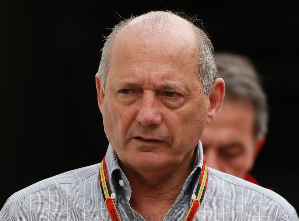 McLaren chief Ron Dennis challenged his lead driver to 'try harder' at Silverstone