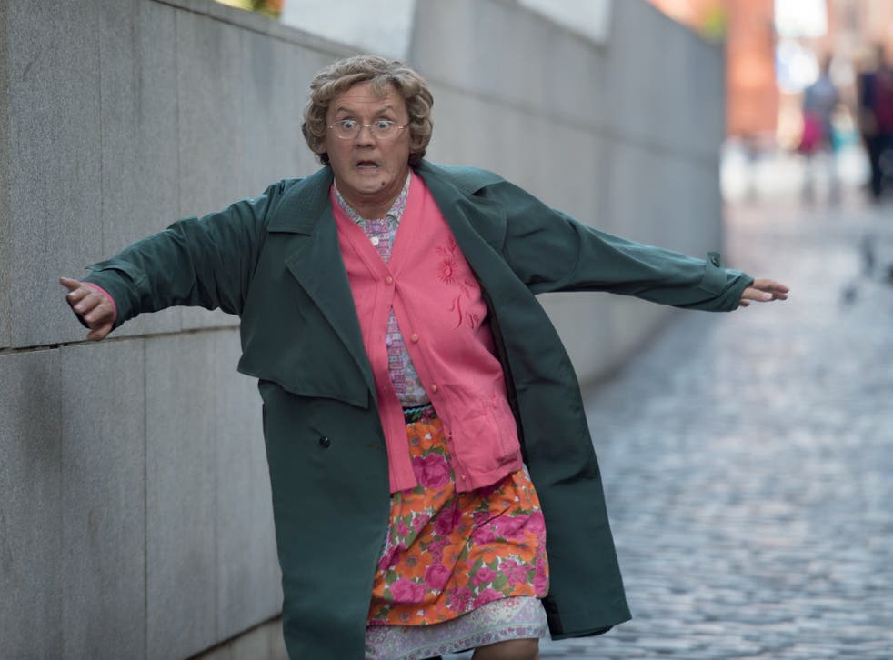 Brendan O'Carroll brought out his female alter ego Agnes Brown for a movie in 2014