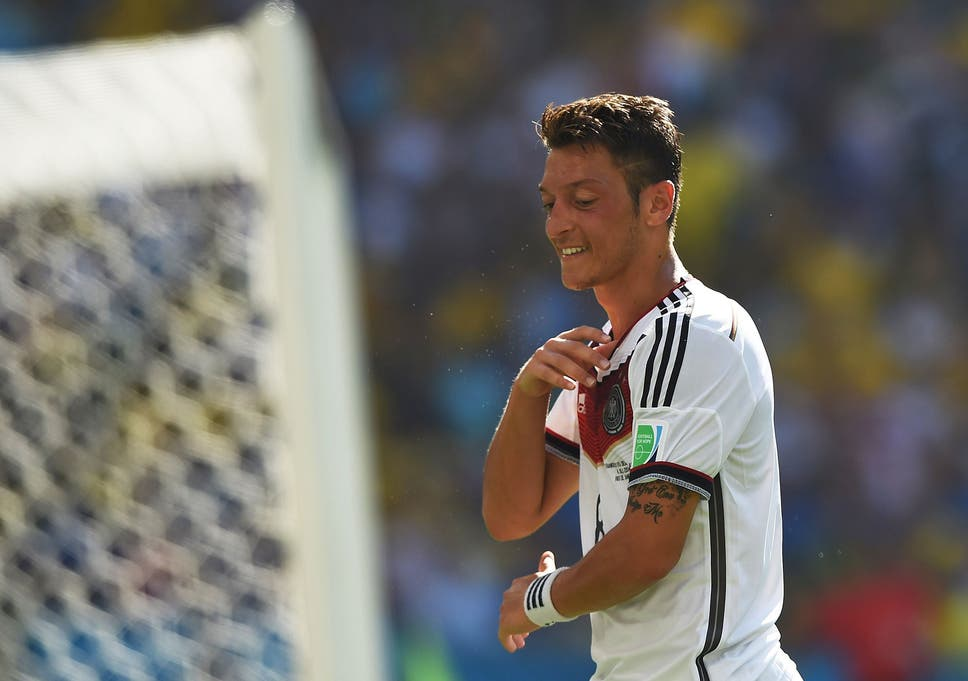 Brazil vs Germany World Cup 2014: In defence of Mesut Ozil - the