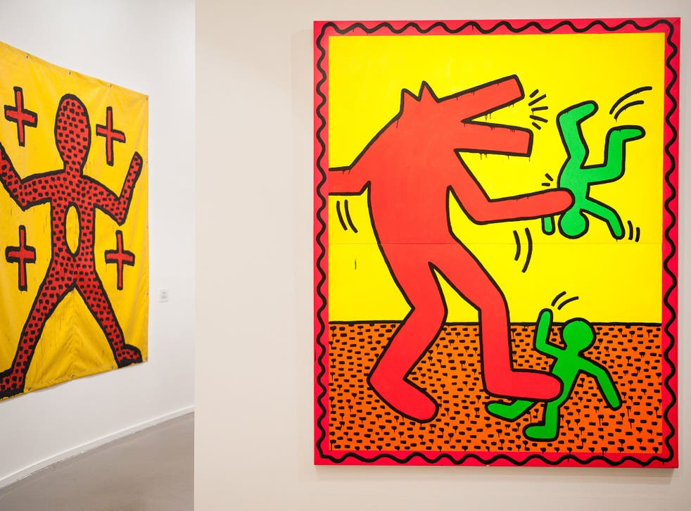 A real Keith Haring piece
