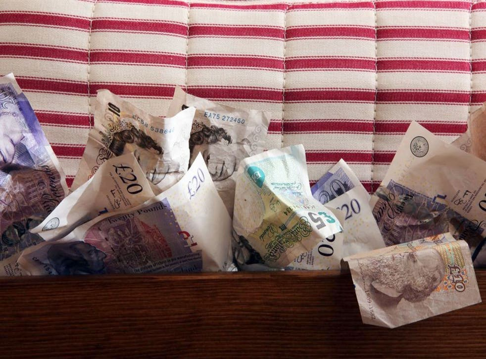 One reader complained that he would be better off if he kept his money by his bed