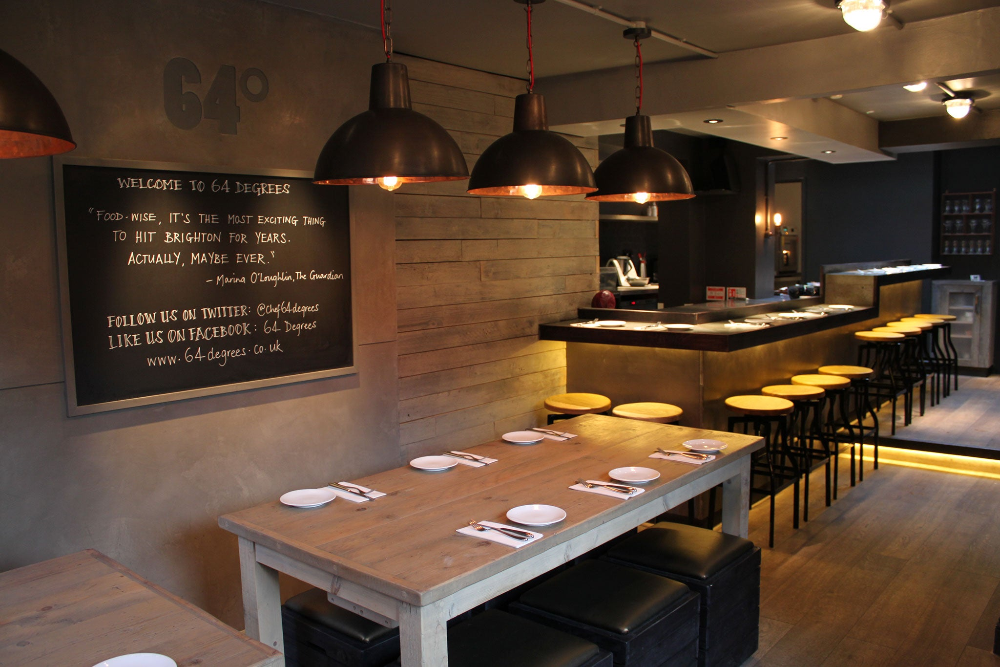 64 Degrees Restaurant Review Small Plates Big Ideas At Michael Bremners Brighton Venture