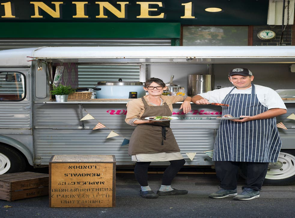 David and Charlotte Bailey are at Whitecross Street Market, London EC1, most Thursday and Friday lunchtimes and at other events across the country