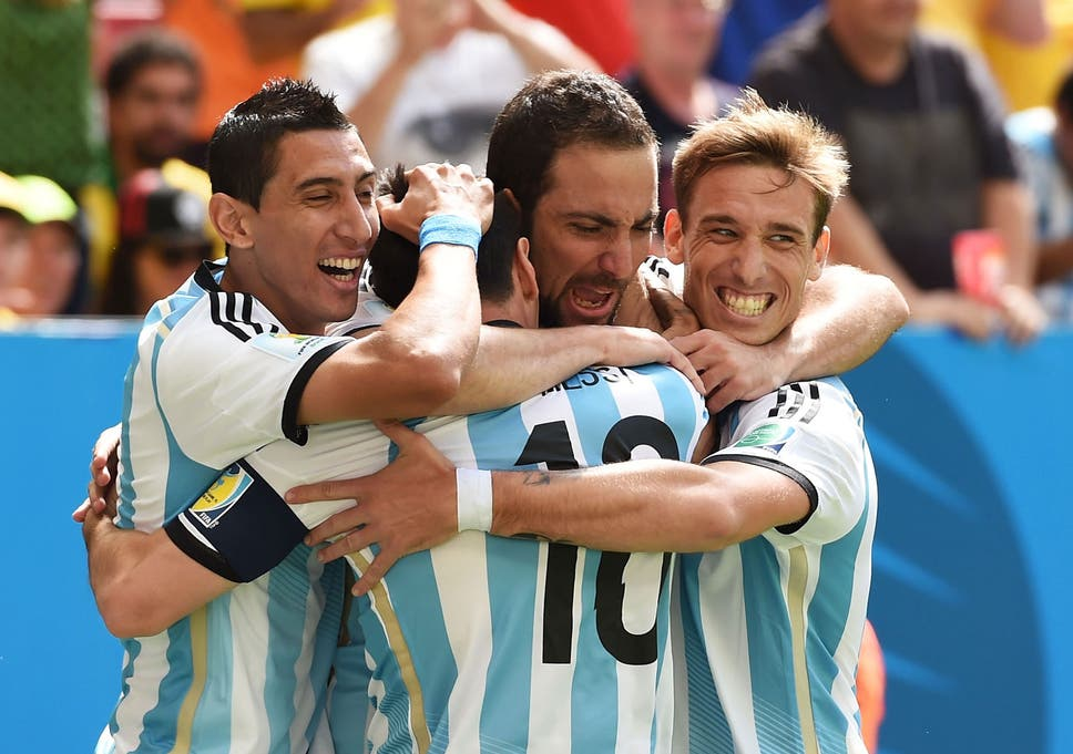 0af1f57bc23 Argentina vs Belgium match report World Cup 2014: Gonzalo Higuain goal the  high point as Argentina find their feet