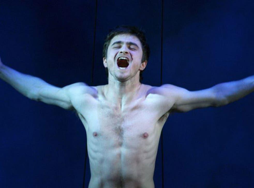 Daniel Radcliffe in Equus (AFP)