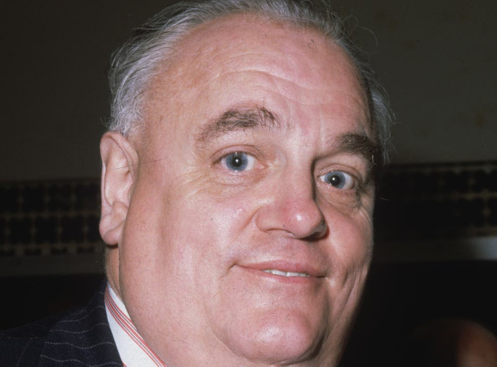 Cyril Smith, the former Liberal MP for Rochdale pictured circa 1980