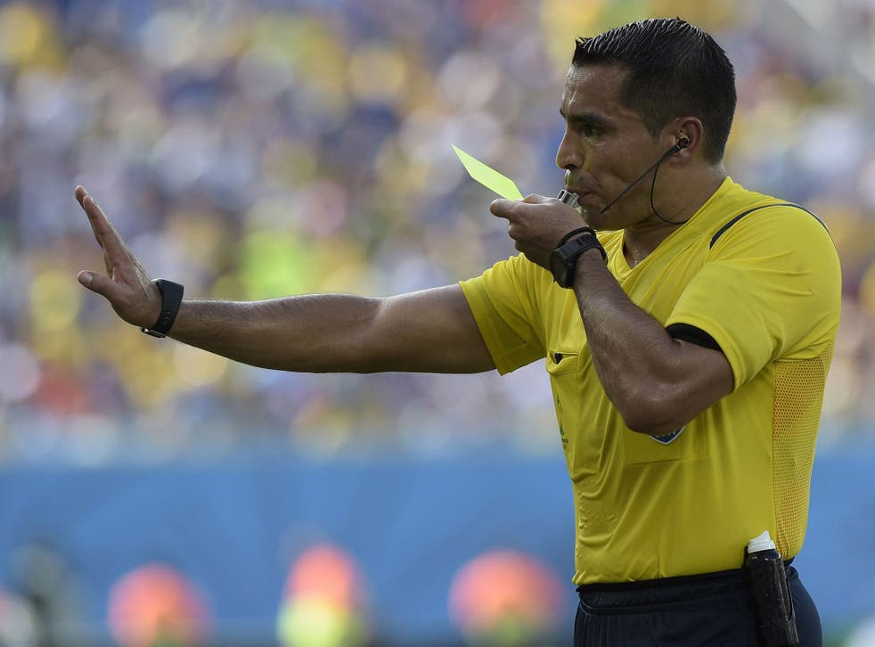 Mexican referee Marco Rodriguez  has been warned by the Germany coach  to 'clamp down' on the kind of fouling seen in the Brazil-Colombia quarter-final tie