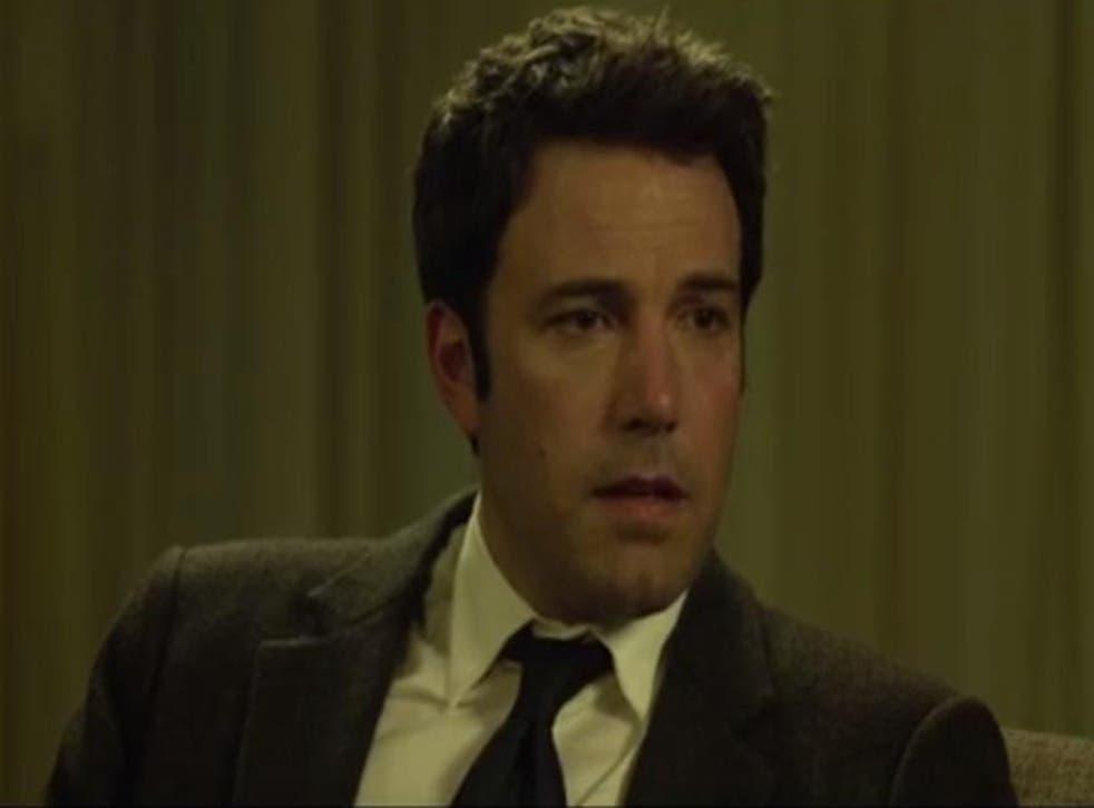 Ben Affleck plays a despondent Nick Dunne in David Fincher's 'Gone Girl'