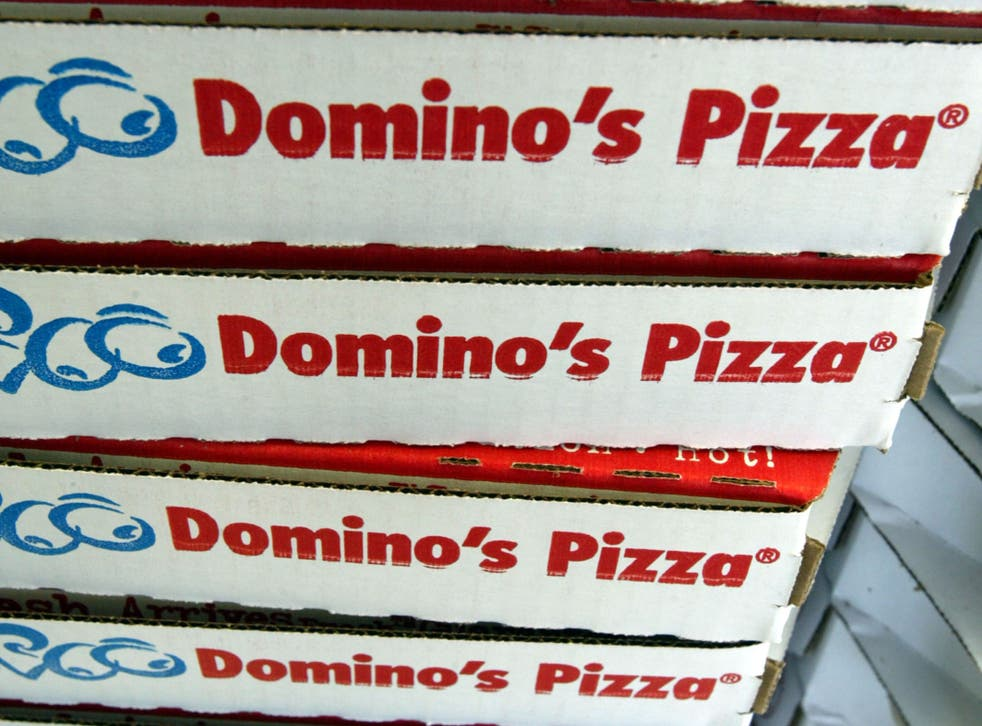 Three quarters of Domino's Pizza deliveries are now booked online, with half of those coming from mobile phone apps.