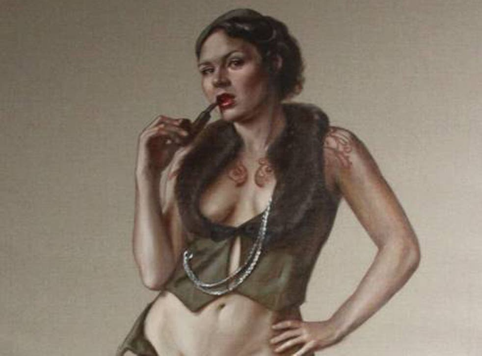 Leena McCall's 'Portrait of Ms Ruby May'