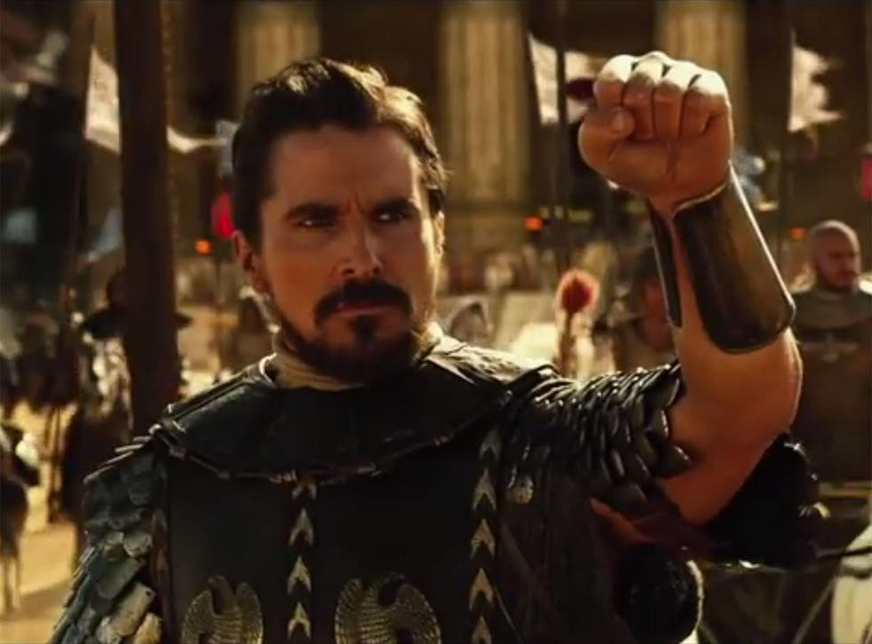 Christian Bale stars as Moses in Ridley Scott's Exodus: Gods and Kings