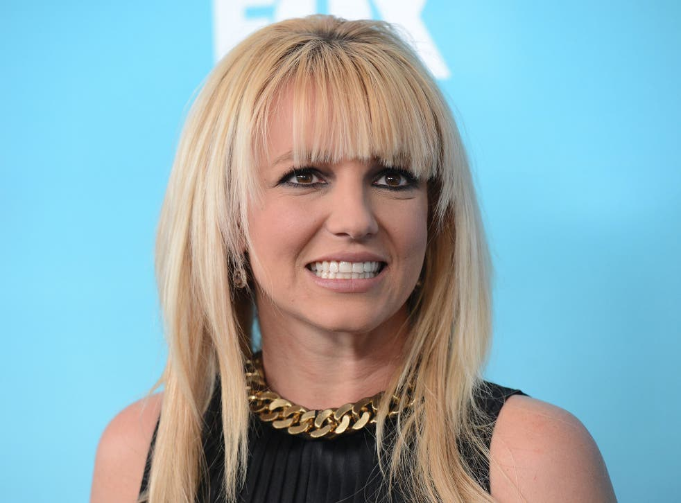 Britney Spears has been caught singing without Auto-Tune