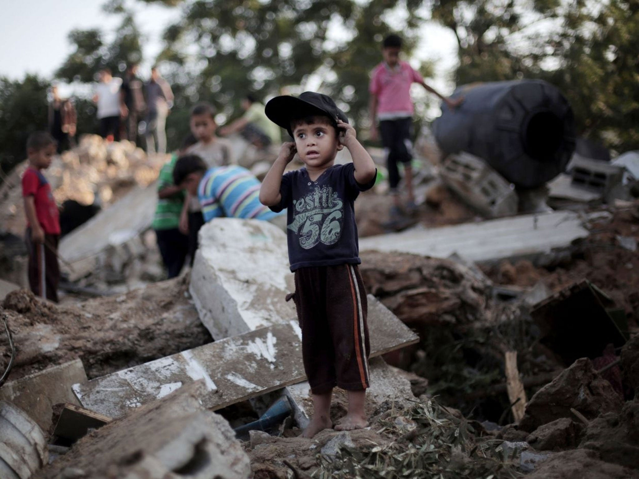Israel-Gaza violence: Powerful images show scale of destruction in
