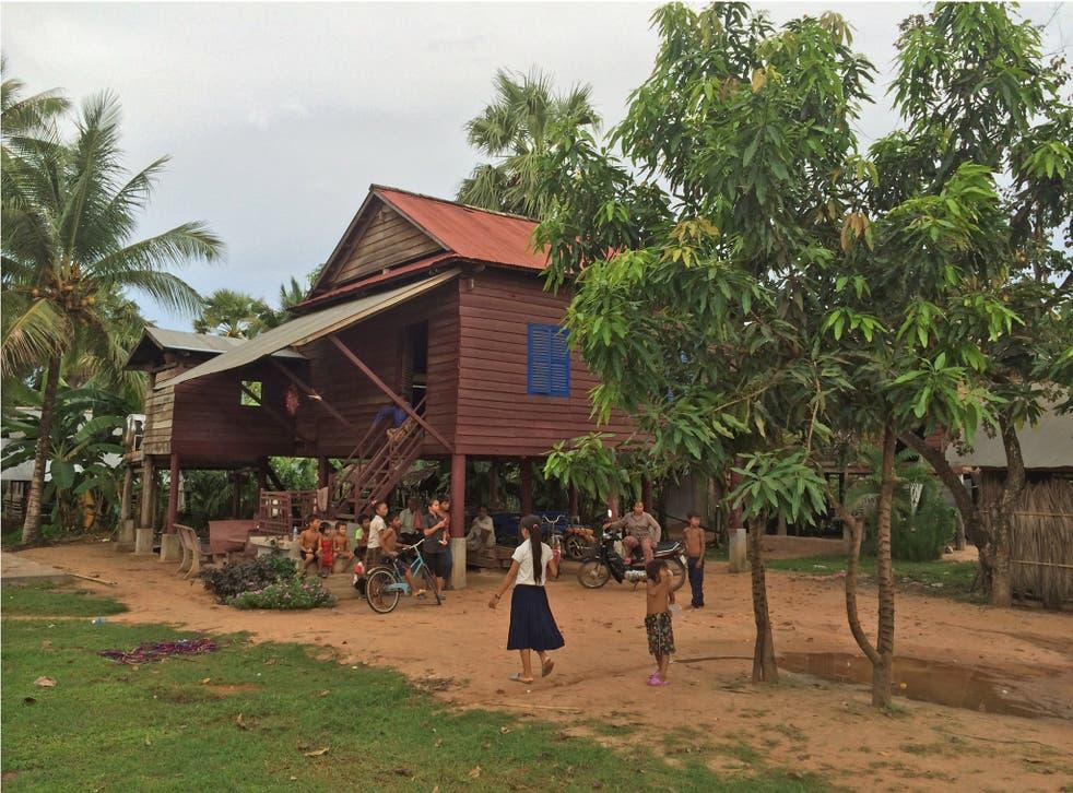 Long Ven's Underprivileged Children School (UCS) in Siem Reap near Angkor Wat