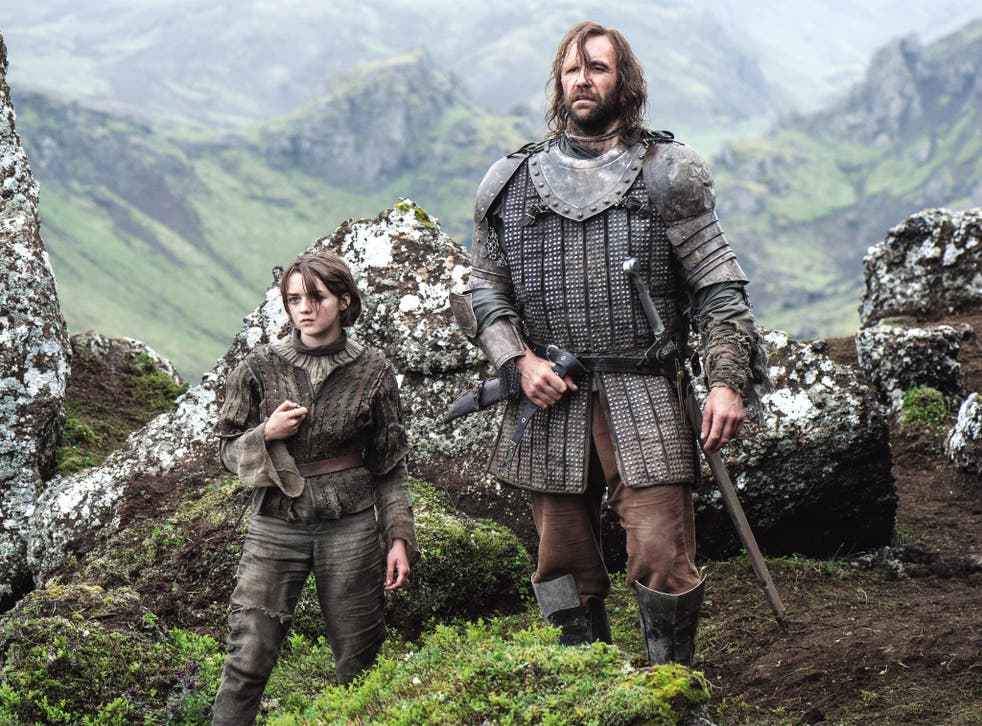 Characters in the new series are based on real people, say its creators, unlike Arya and Clegane the Dog in 'Game of Thrones'