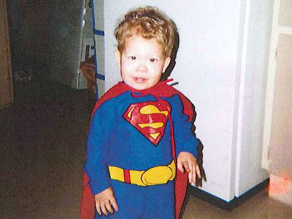 Jeffrey Baldwin in his Superman costume  sc 1 st  The Independent & DC comics to allow statue of murdered five-year-old Jeffrey Baldwin ...