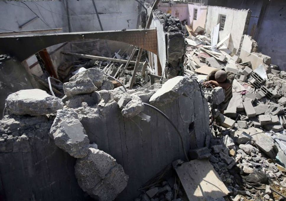 Israel-Gaza crisis: Eight killed in Gaza Strip cafe while