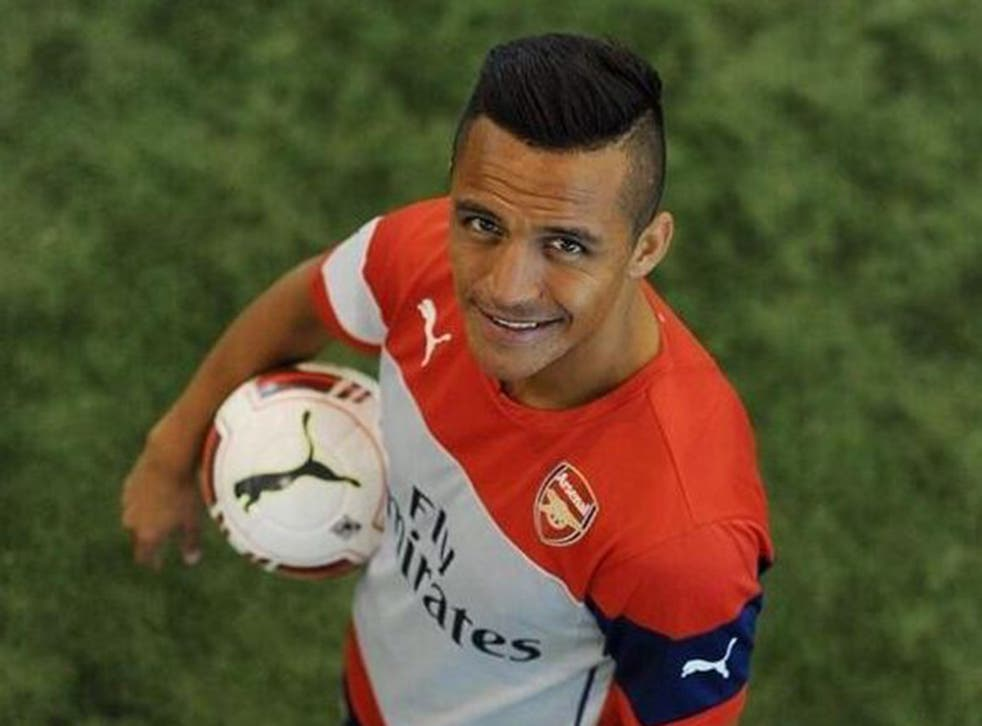 Alexis Sanchez has completed a £35m move to Arsenal, the club have confirmed