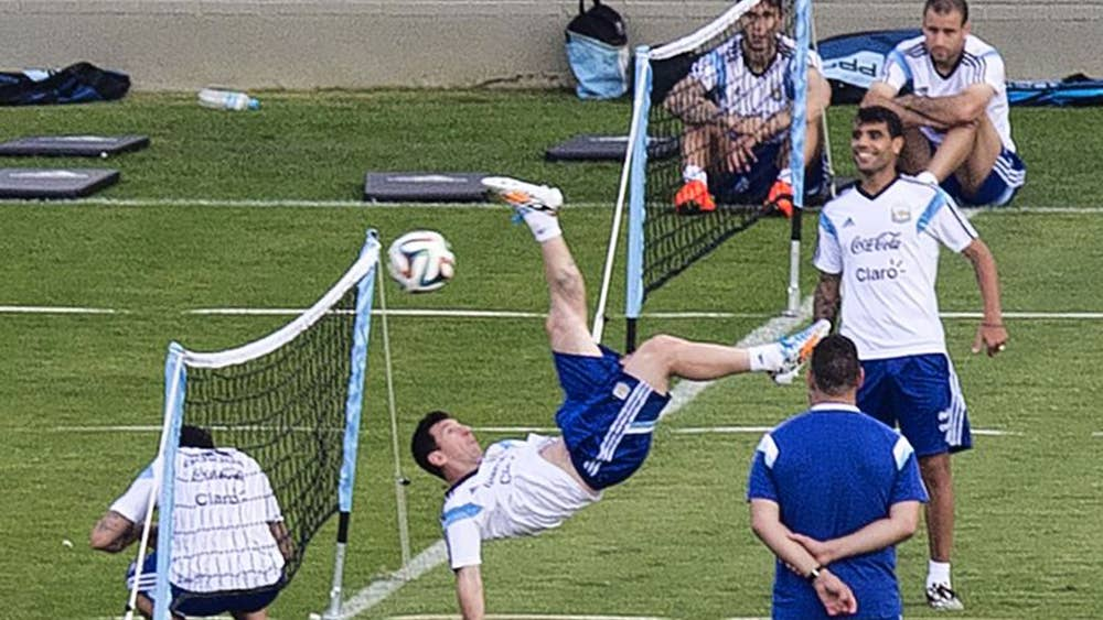 d5c952729 Germany vs Argentina World Cup 2014: Lionel Messi watches and waits for  final chance to be a legend like El Diego