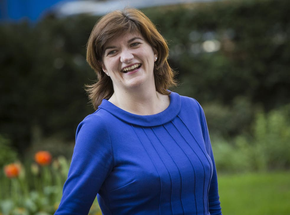 Nicky Morgan, a former corporate lawyer