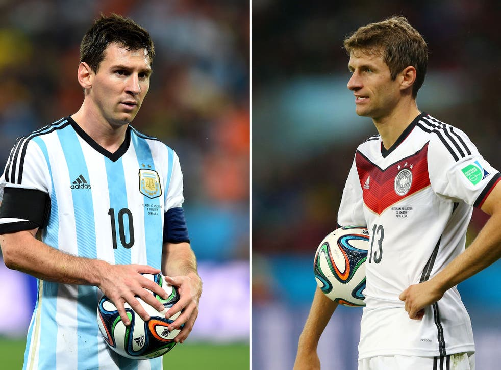 Lionel Messi and Thomas Muller have shone brightest for Argentina and Germany respectively on their way to the World Cup final