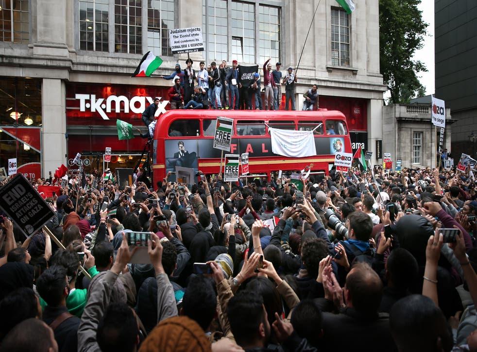 Pro-Palestine demonstration in London