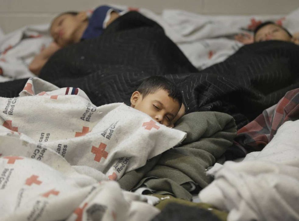 Left in limbo: Refugee children in a processing centre in Brownsville, Texas