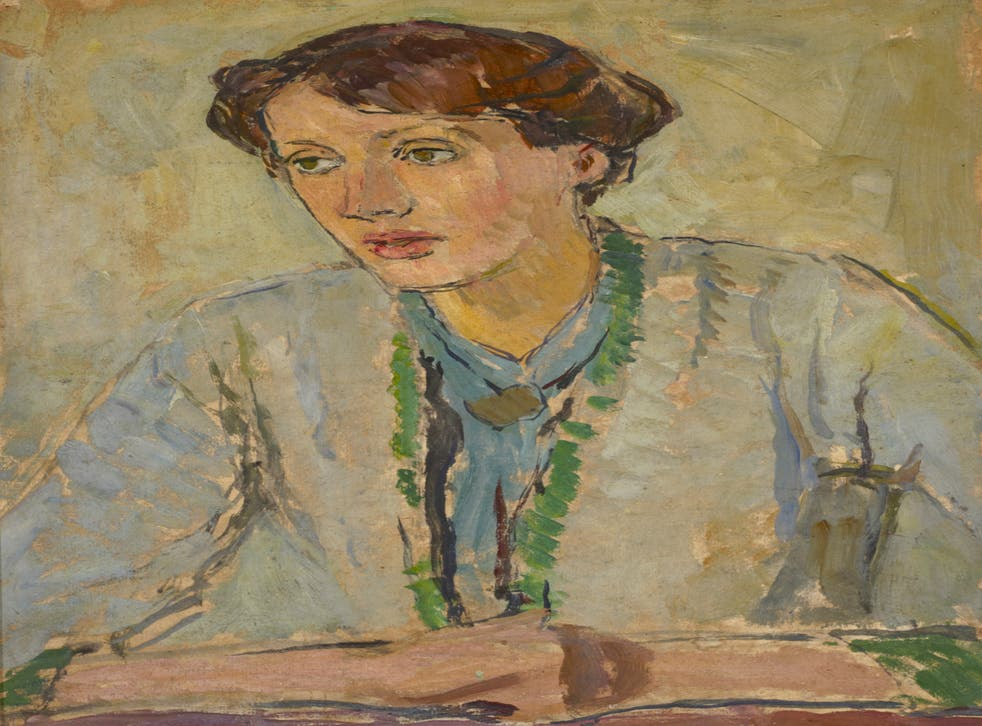Virginia Woolf by Vanessa Bell c.1912