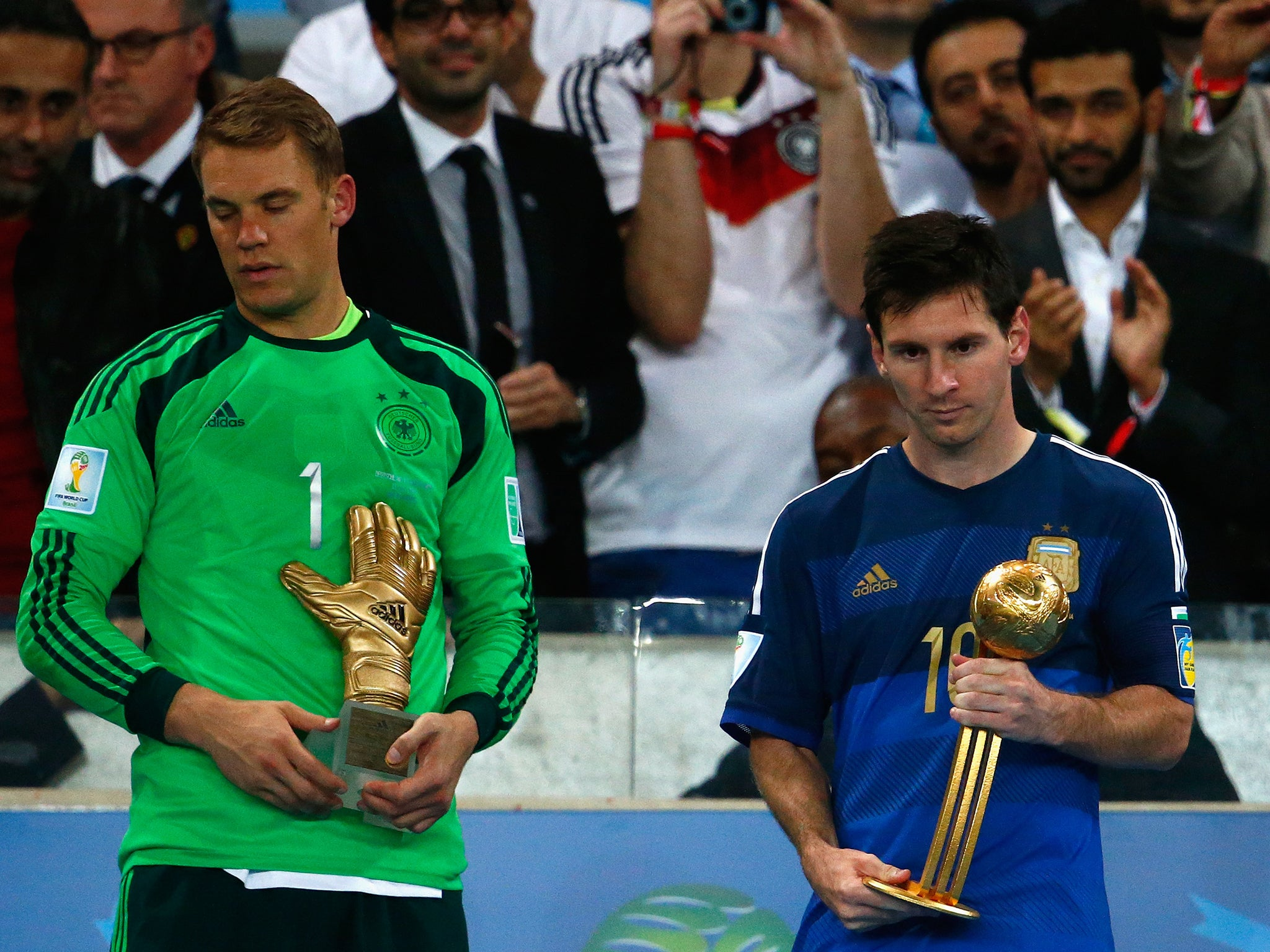 World Cup 2014 Lionel Messi Upset Angry And The Golden Ball Means Nothing The Independent