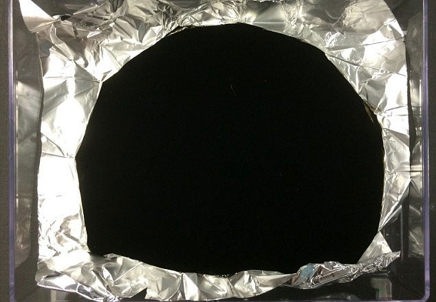 blackest is the new black scientists develop a material so dark