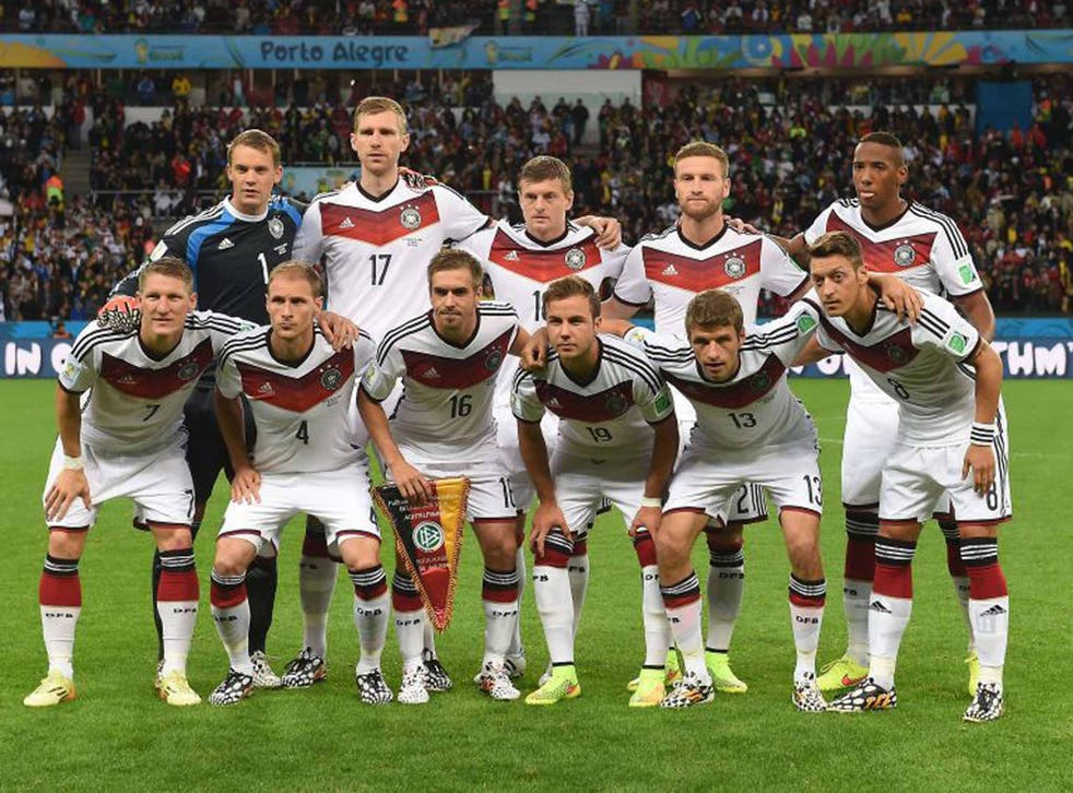 Winning combination: the German team