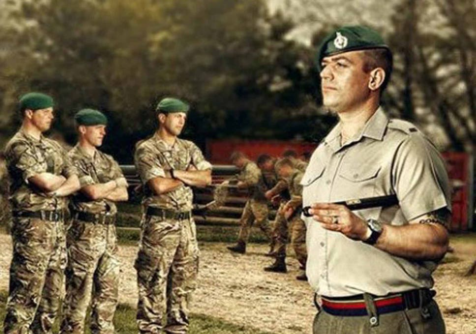 dating a royal marine commando dating your physical therapist