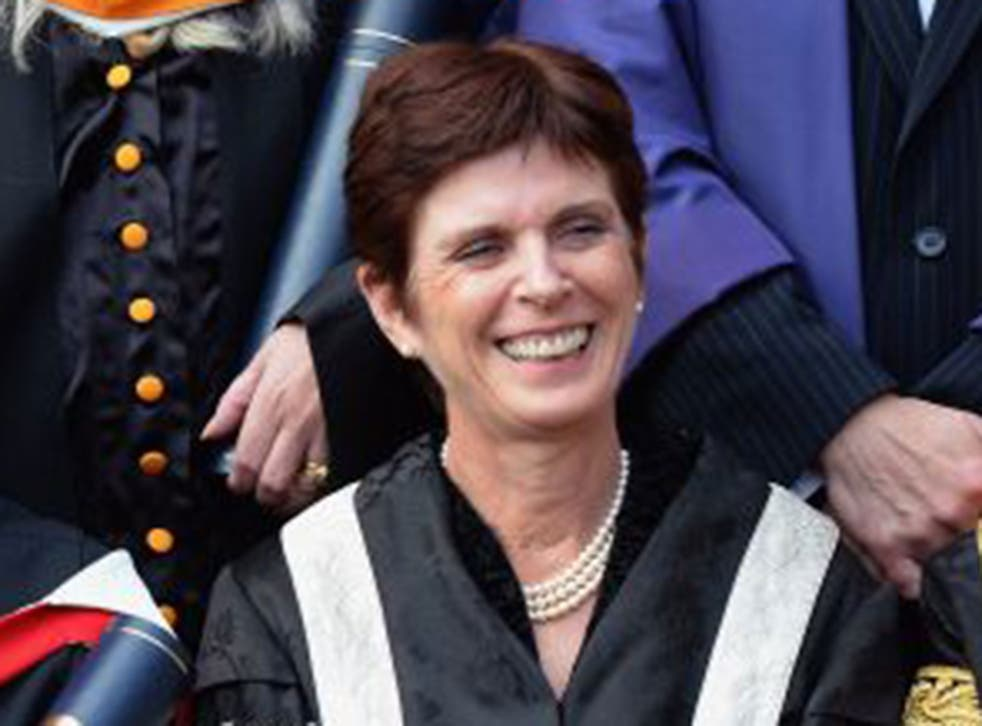 Louise Richardson, the vice chancellor of Oxford University, was questioned by MPs