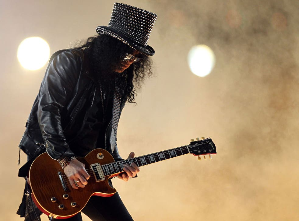 Slash and the rest of the band last played together in 1993