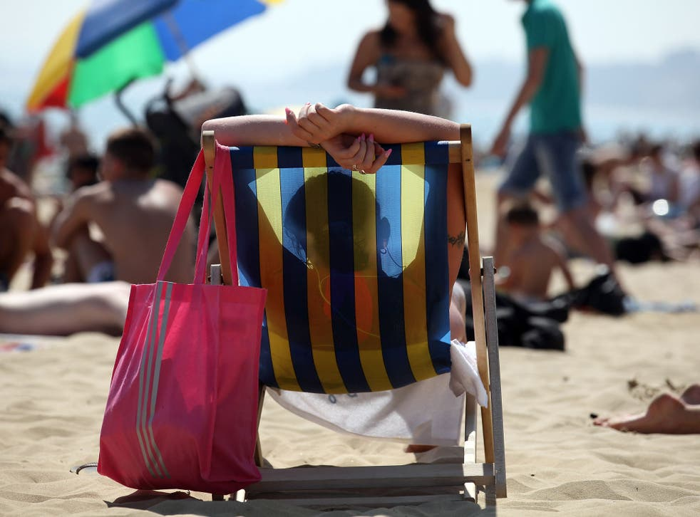 Temperatures are expected to be around or higher than the 25C (77F) mark