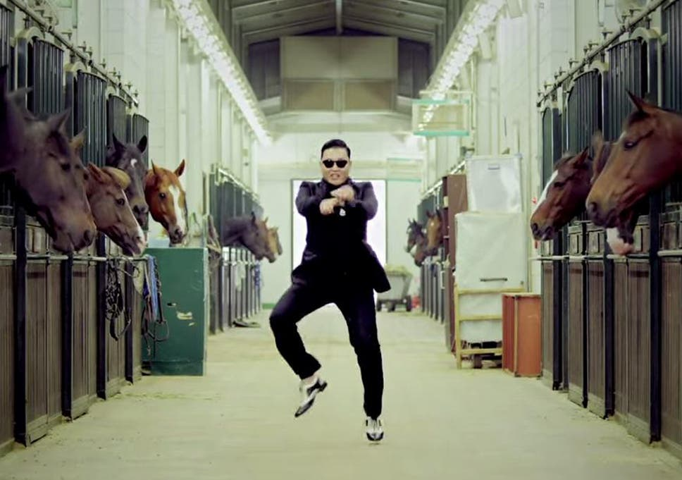 Psy Dances In His Hit Music Video Gangnam Style