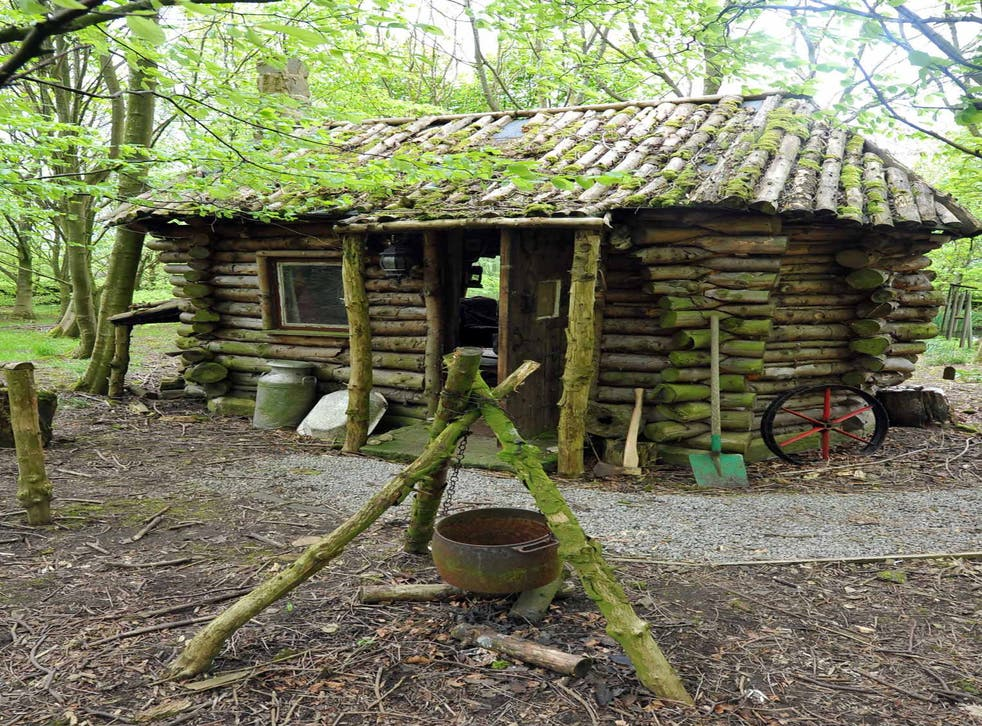 White Lodge, owned by John Leaver, a finalist in the 2014 Shed of the Year competition