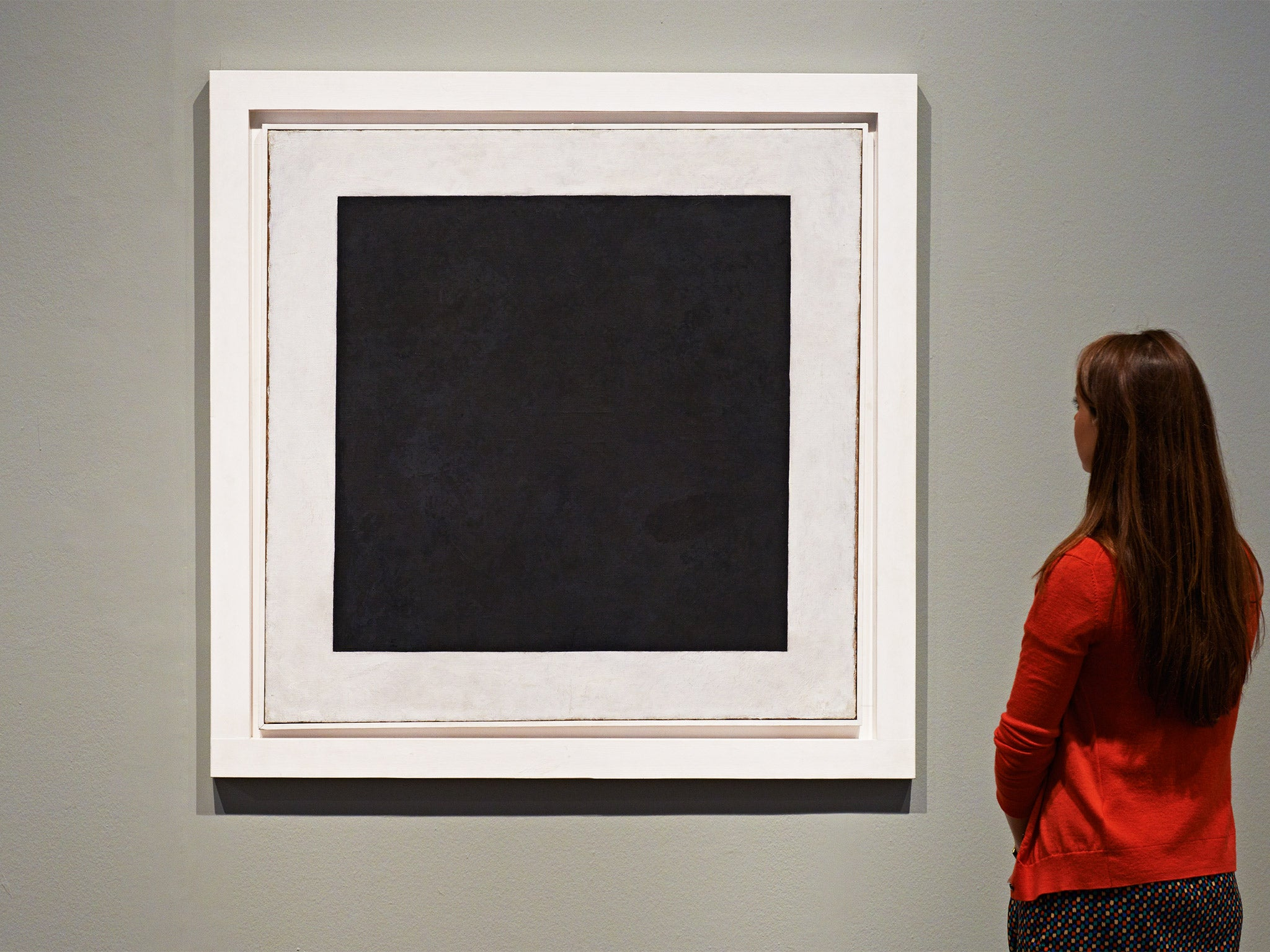 kasimir malevichs black square what does it say to you