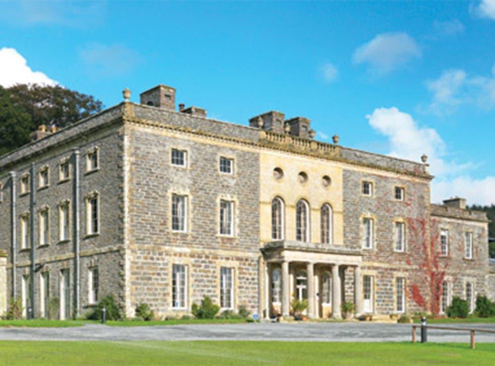 Nanteos Mansion near Aberystwyth, Wales