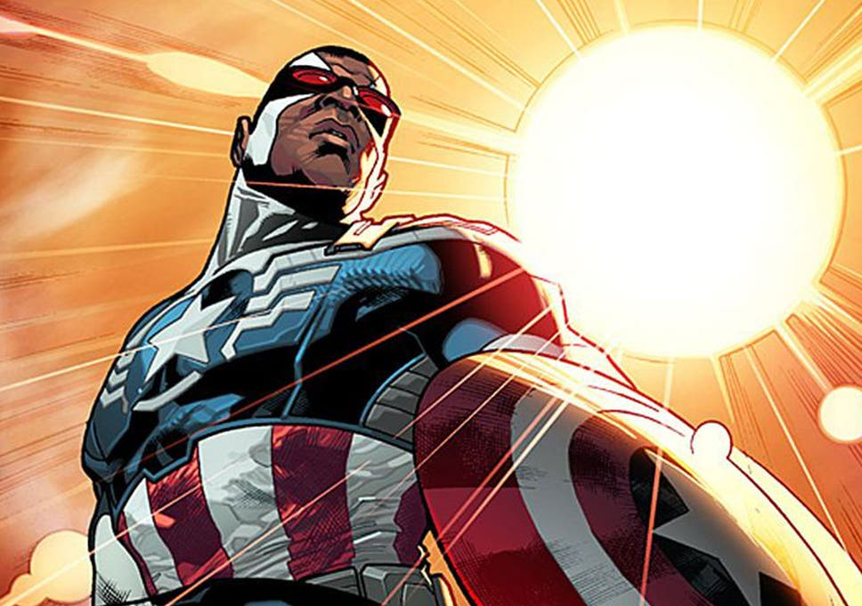 Marvel Fans React to New Falcon Costume