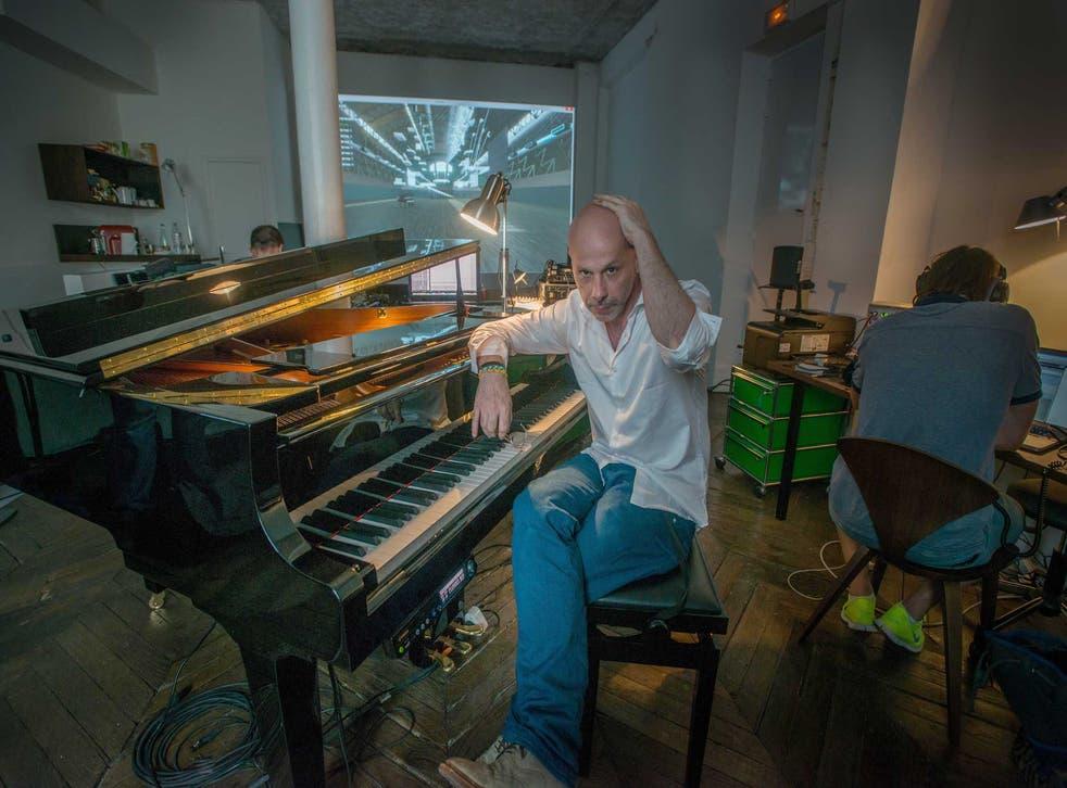 Key mover: Philippe Parreno in his Paris studio