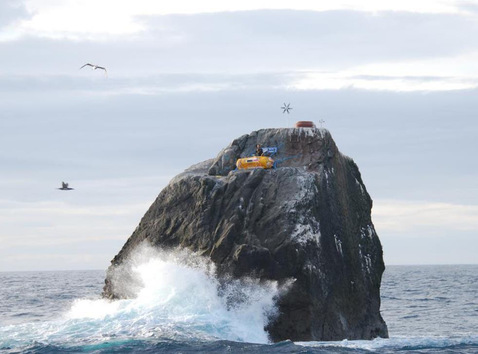 On Saturday Nick Hancock's time on the islet will finally come to an end when he is collected by a Kilda Cruises boat and taken back to the Isle of Harris
