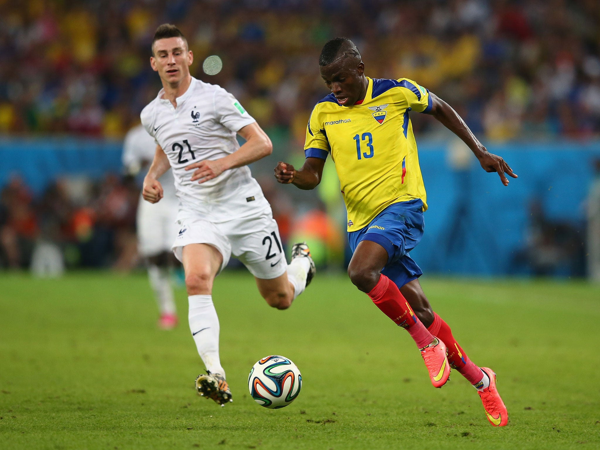 Enner Valencia joins West Ham Hammers plete £12m signing of
