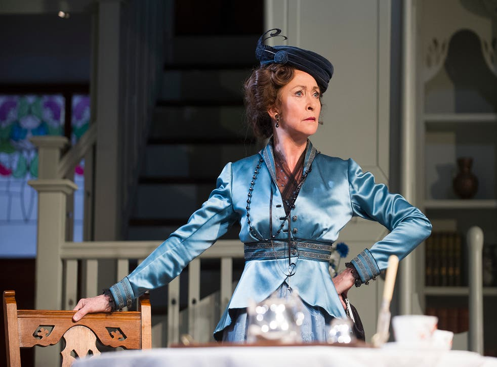 A scene from The Importance Of Being Earnest at the Harold Pinter Theatre