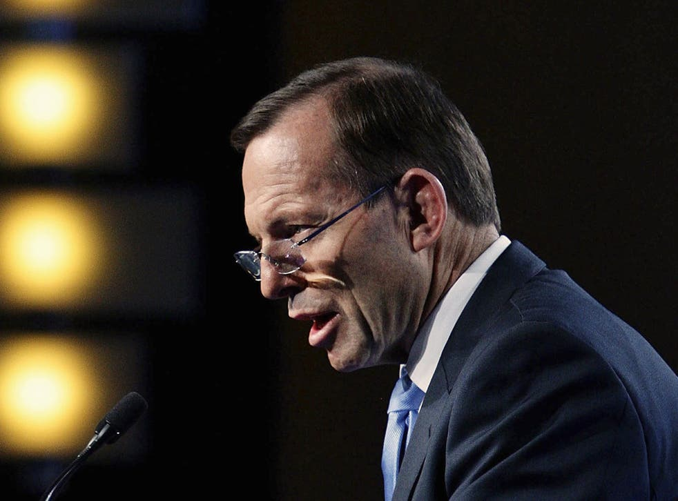 Tony Abbott's government has scrapped carbon pricing